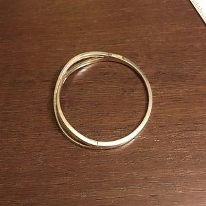 f471d2ac7 Pandora Jewelry | Star Trail Sterling Bangle Bracelet | Poshmark
